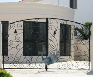 Residential Double Swing Gates.2